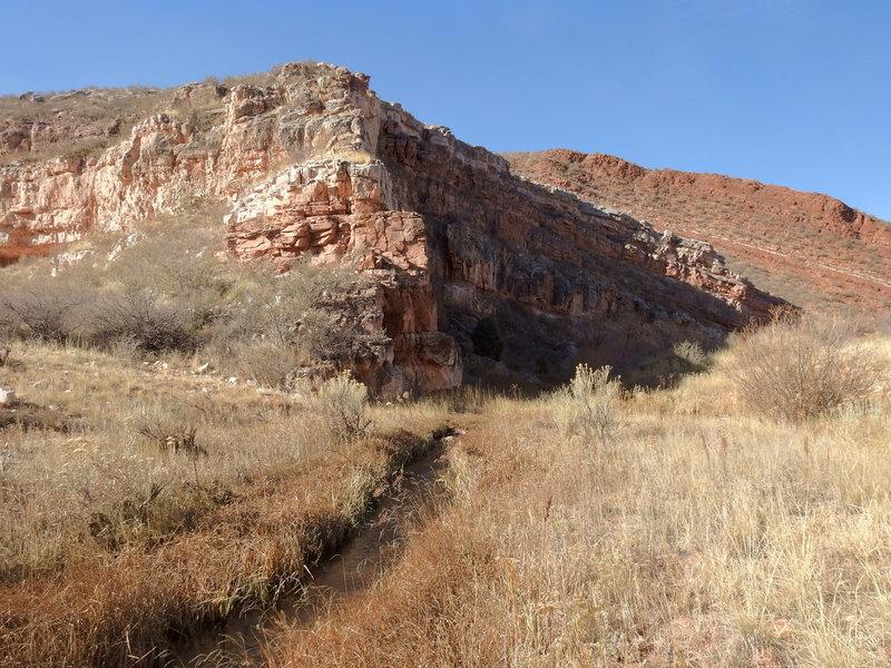 Bent Rock Anticline