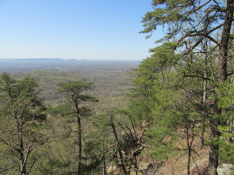 View from the top of Pilot Knob Trail - Overlooking the Bluegrass Region