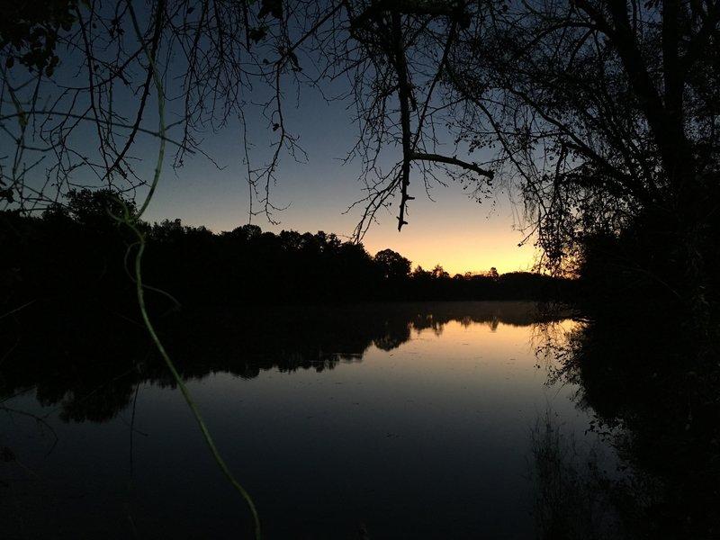 Sunrise on the James