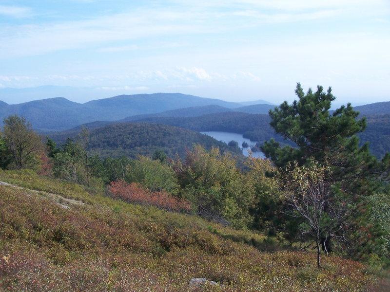 Crosset Pond and Putnam Mountains