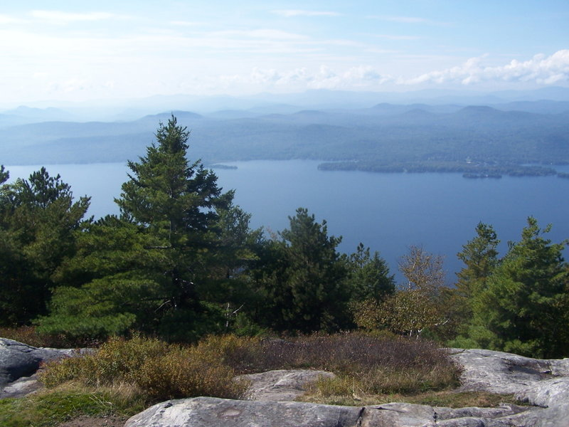Lake George from Summit