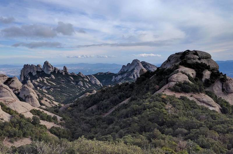 Another shot from our hike through Montserrat.