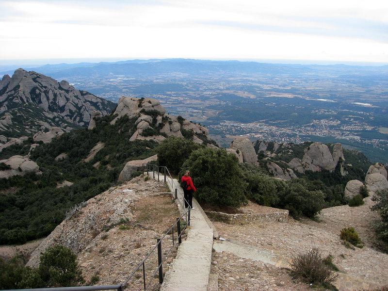 Highest Point of Montserrat.