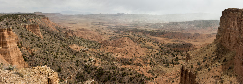 Panorama of the South Desert.