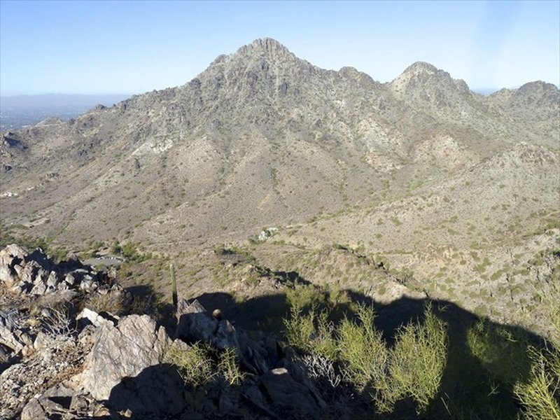Piestewa Peak from a slight detour off the indicated route