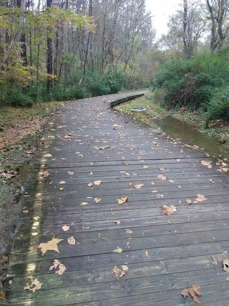 Bridge on Warren Creek Trail