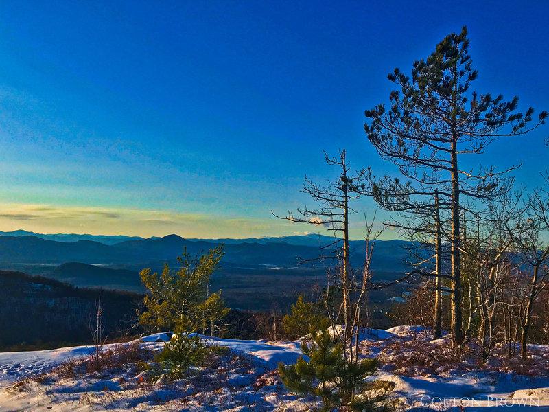 Pleasant mountain summit