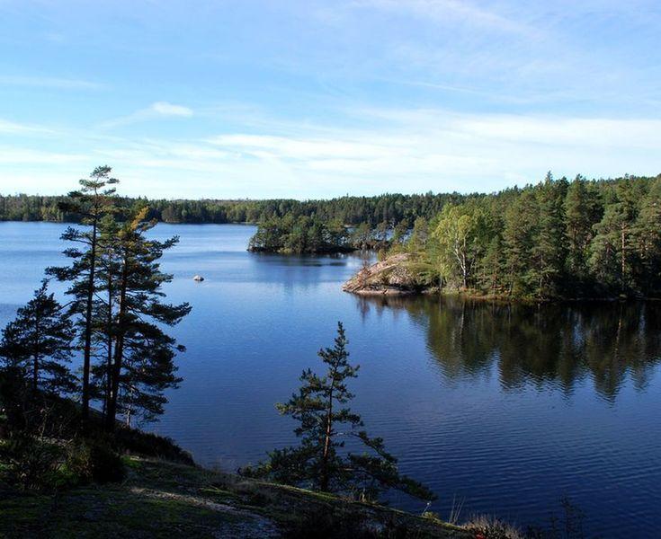 The Lake Stensjön.