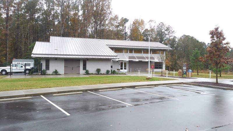 Forest Ridge Park Visitor Center and office