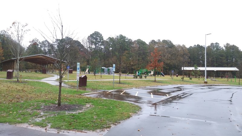 Picnic Shelters and Playground at Forest Ridge Park