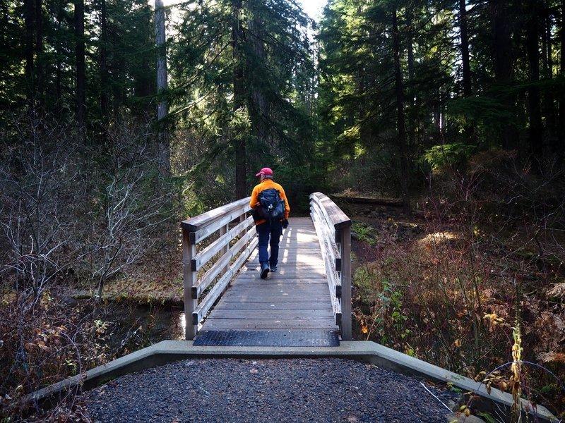 Crossing Union Creek