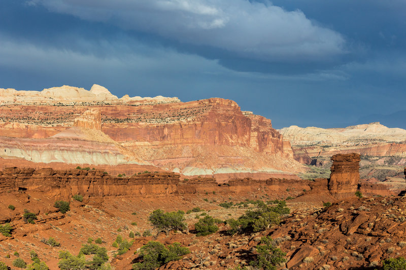 Navajo Nobs from Sunset Point Trail