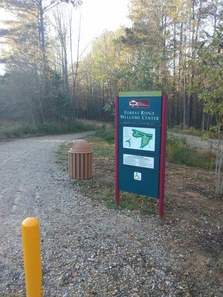 Forest Ridge Park, near Wake Forest