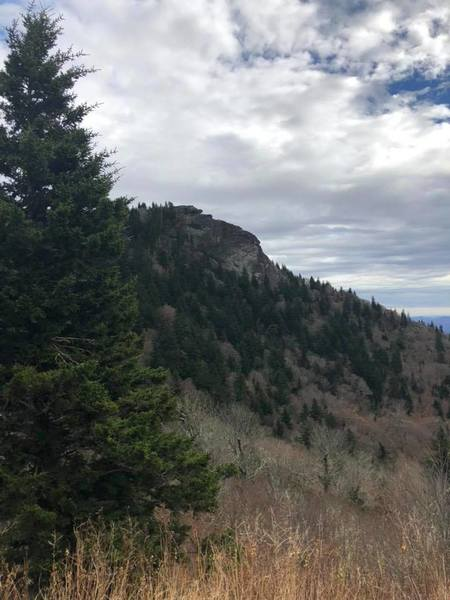 View of the summit of Devil's Courthouse