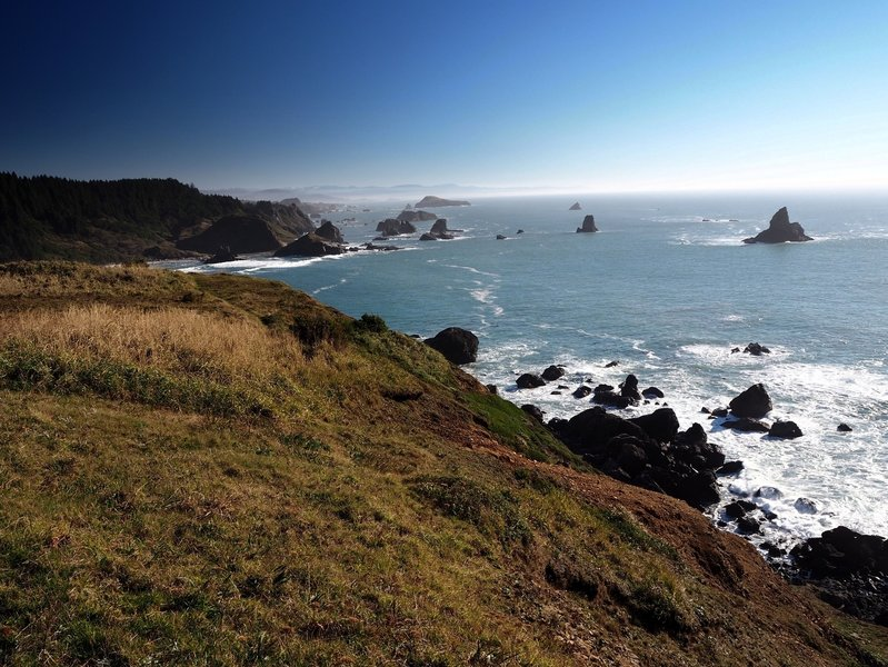Looking south from Cape Ferrelo
