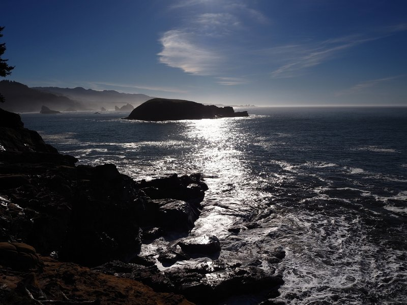 Hunters Island from Cape Sebastian