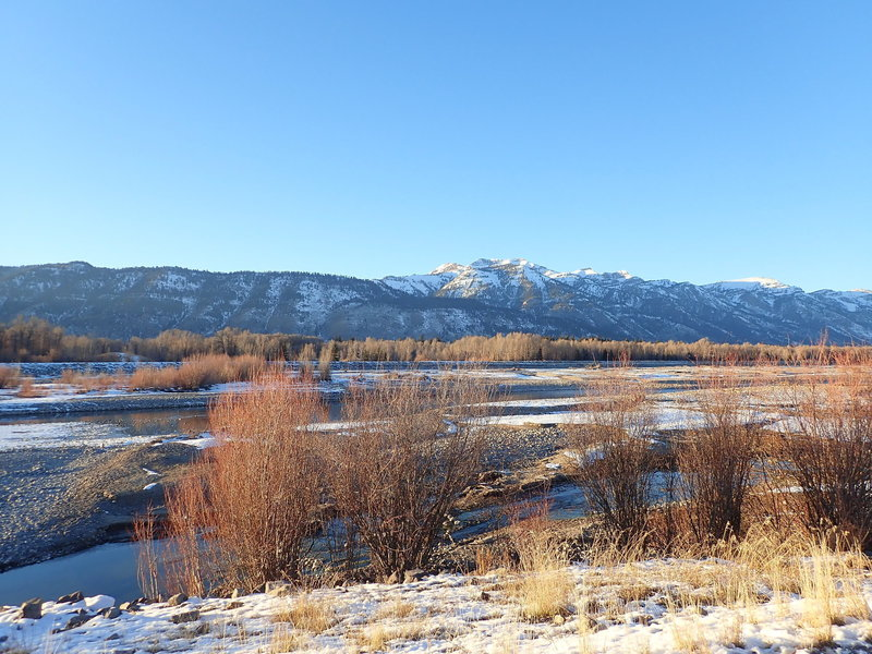 Looking out across Snake River