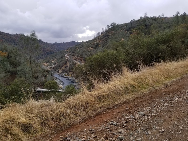 More views downstream from Stagecoach Trail.