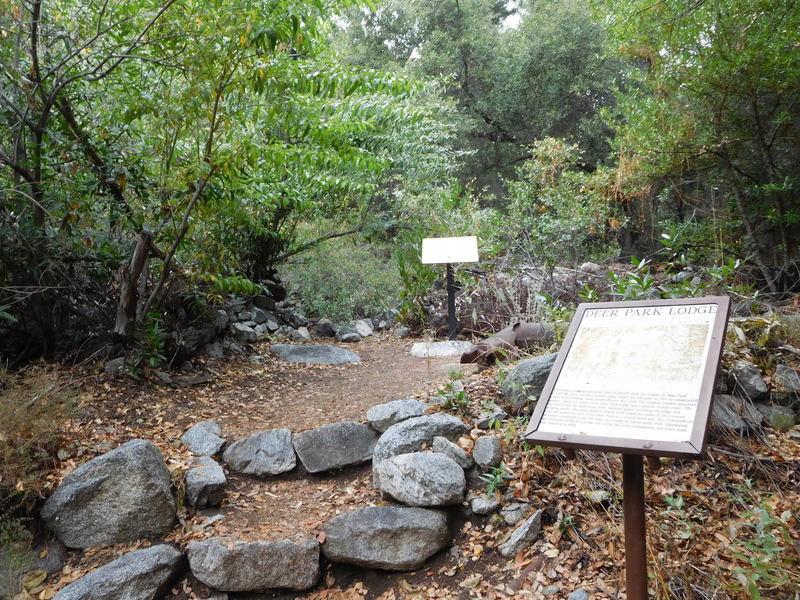 Remains of Deer Park Lodge