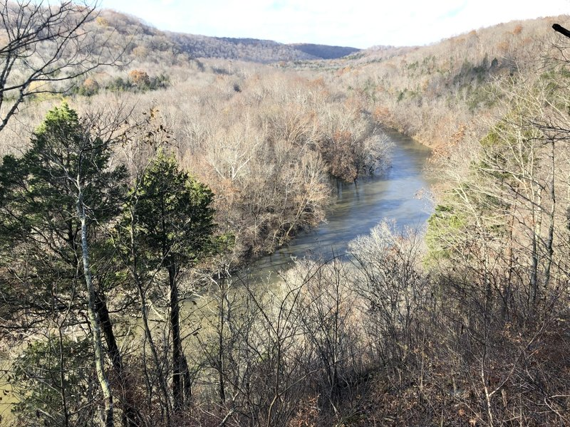 Overlooking the Green River