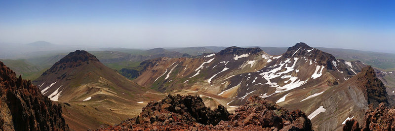 Summits of Aragats
