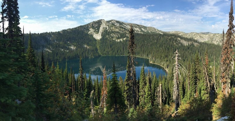 Hidden Lake in Selkirk Mountains, Idaho