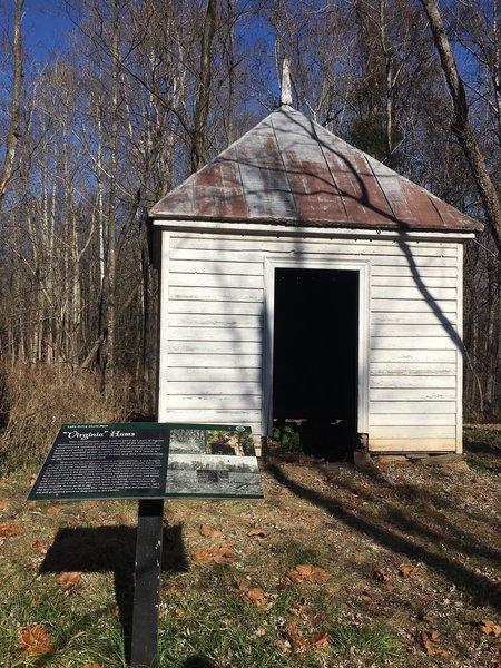 Pigeon Run Plantation Smoke House and Interpretive Signs