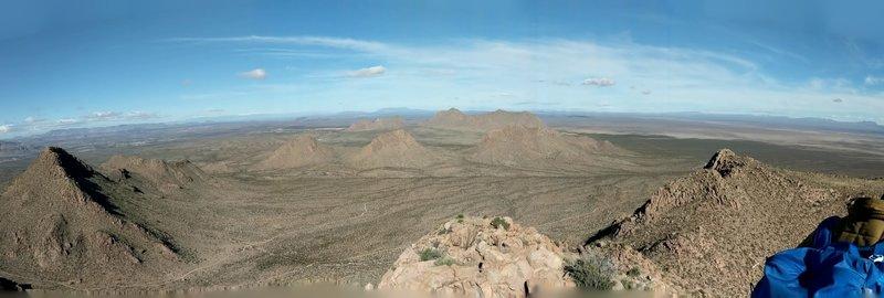 West Summit looking Northwest
