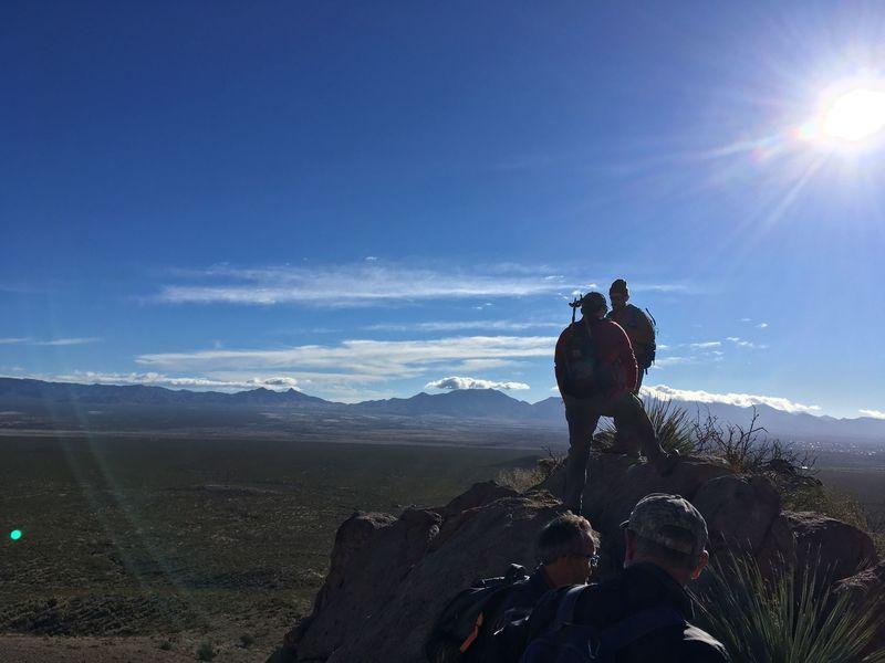 East Summit looking East towards the San Andres Range