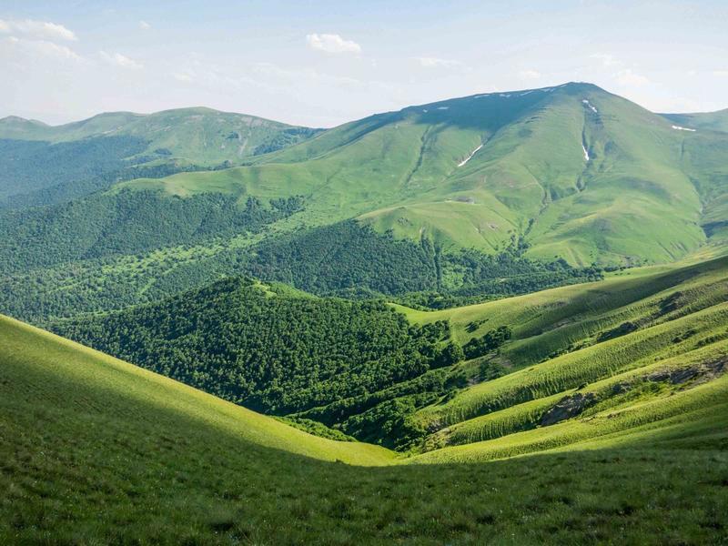 Slopes of Mount Teghenis
