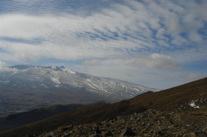 Panorama from the mount Tukh Manuk