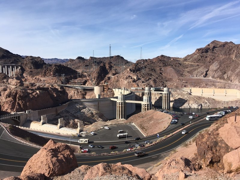 The Hoover Dam Complex.