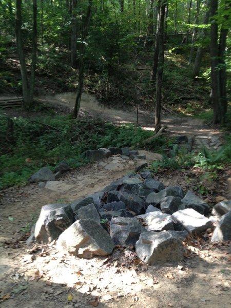 Rocky creek creek crossing