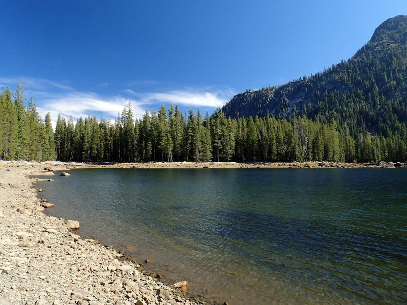 Cliff Lake (it was a drought year)