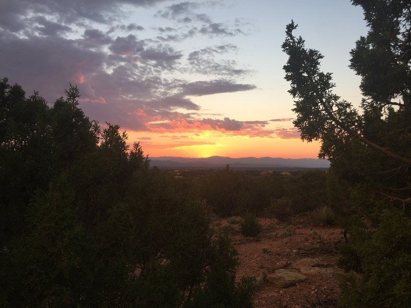 Sunset on Sun Mountain