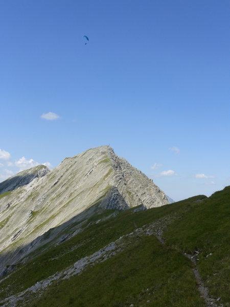 View to top of Gartnerwand