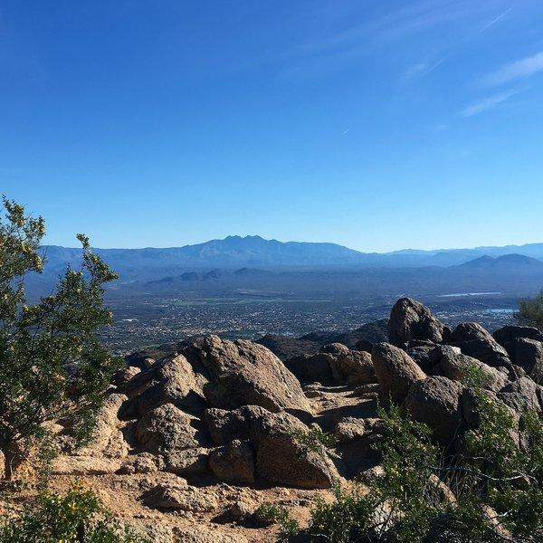 From Sunrise Peak Looking southeast