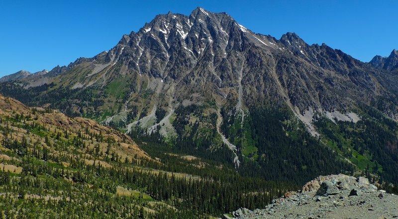 Mt Stuart, from Long's Pass