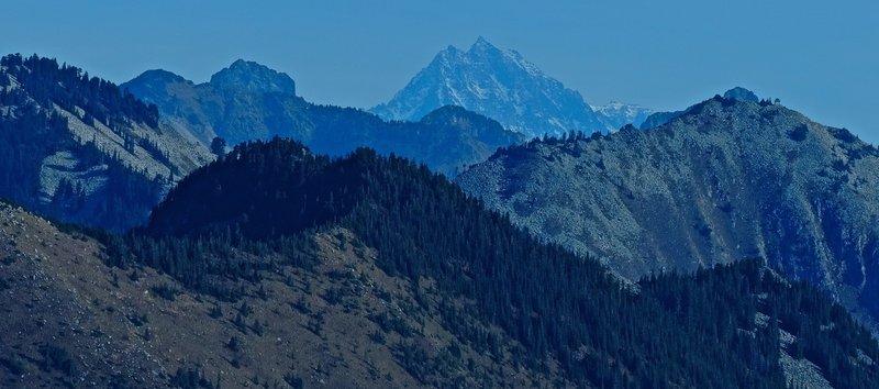Mt Stuart, in the distance