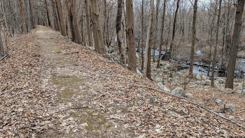 The Morris Canal Toe Path