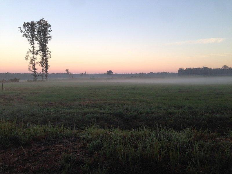 Sunrise at the Breakthrough Battlefield