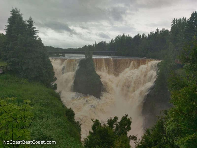 Kakabeka Falls from the Mountain Portage Trail
