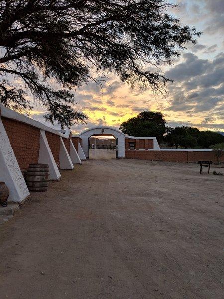 Near sunset at Finca El Carmen