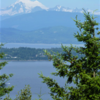 Mt. Baker from atop Guemes Mountain