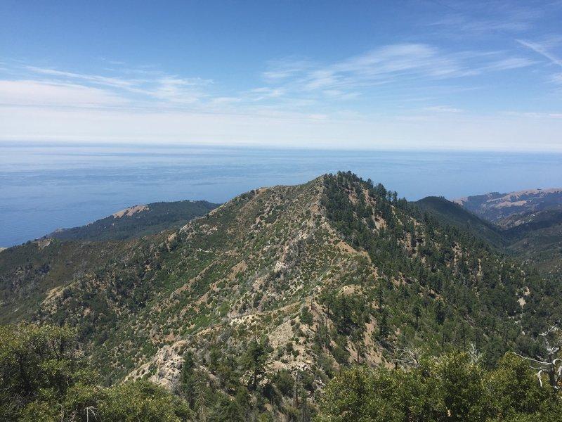 Twin Peak from Cone Peak