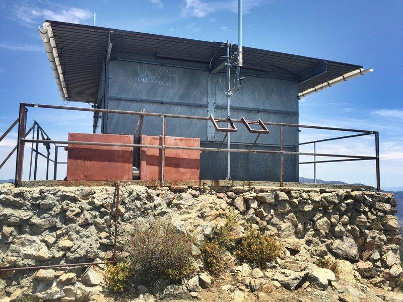 Cone Peak lookout