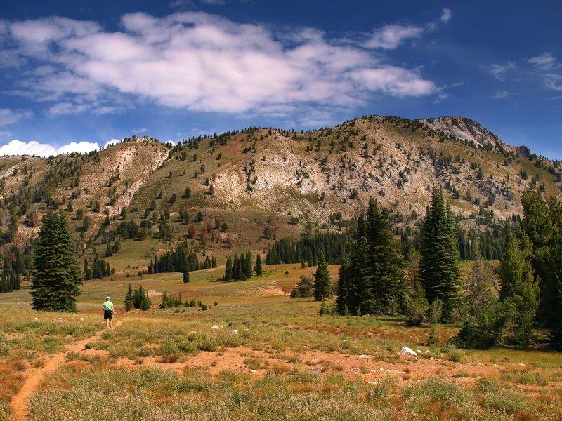 Cornucopia Peak is on the far right