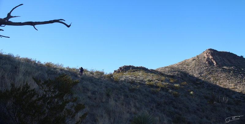 Hiking the Ridge Line