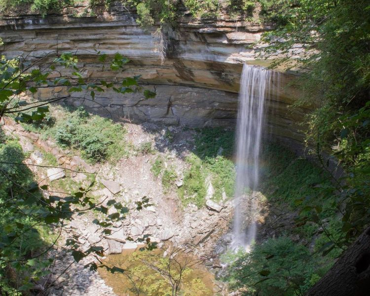 Tunnel Falls, view from Trail 5