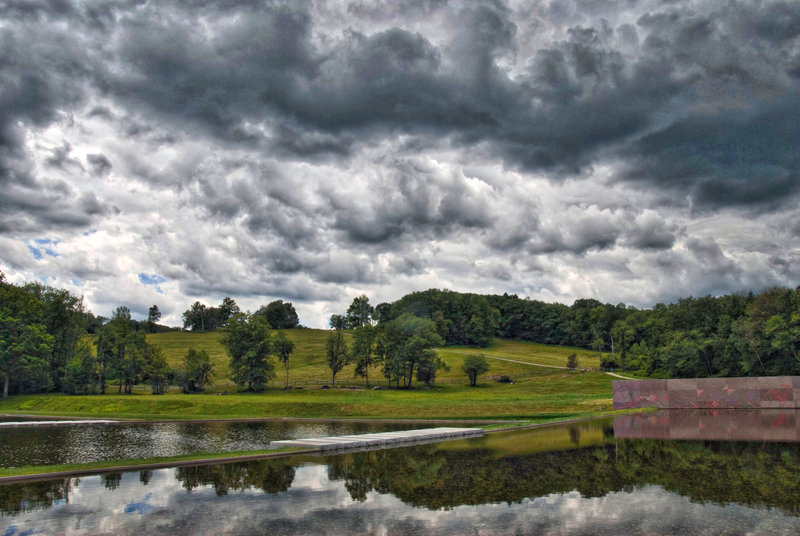 The View from 'The Clark' Art Institute -- Williamstown (MA) July 2015